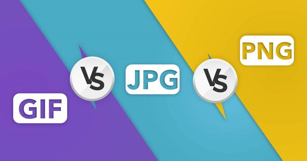 JPG vs PNG vs GIF